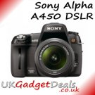 Sony Alpha A450 DSLR +18-55 Lens
