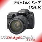 Pentax K-7 DSLR + 18-55mm Lens
