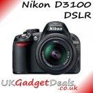 Nikon D3100 DSLR + 18-55mm Lens