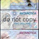 Antarctica 4 pc. Polymer Set $5, $3, $2, $1