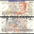 Brazil 100 Cruzados Novos Foreign Paper Money
