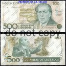 Brazil 500 Cruzados Foreign Paper Money