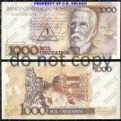 Brazil 1000 Cruzados Foreign Paper Money