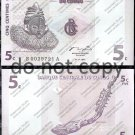 Congo 5 Centimes Foreign Paper Money