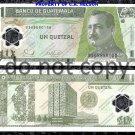 Guatemala 1 Quetzal Polymer Banknote