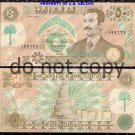 Iraq 50 Dinar Large Orange Foreign Paper Money