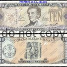 Liberia $10 Dollars 2004 Foreign Paper Money Banknote