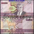 Turkmenistan 50 Manat Foreign Paper Money Banknote