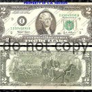 United States $2 Dollars Foreign Paper Money Banknote