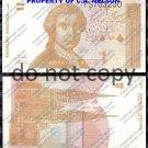 Croatia 1 Dinara Foreign Paper Money Banknote