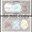 Egypt 10 Piastres Blue Foreign Paper Money Banknote