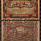 German Notgeld 50 Pfennig Foreign Paper Money 1921 Woods