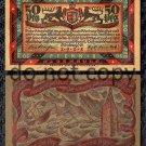 German Notgeld 50 Pfennig Foreign Paper Money 1921 Lighthouse