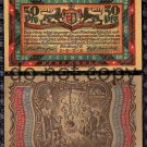 German Notgeld 50 Pfennig Foreign Paper Money 1921 Party