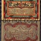 German Notgeld 50 Pfennig Foreign Paper Money 1921 Horse