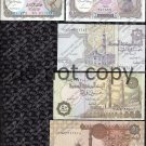 Egypt 5 pc. Piastres Banknote Lot Foreign Paper Money