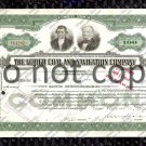 Lehigh Coal and Navagation Company Old Stock Certificate Green