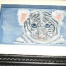 Tiger/Cardinal Washboard Painting