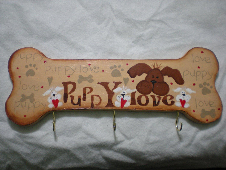 Puppy Love Dog Bone Leash Holder 1
