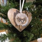 The Snowy Owl Ornament