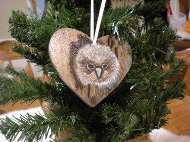 The Snowy Owl Ornament