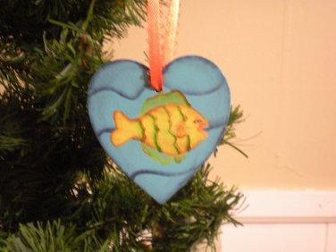 Tropical Fish Gift Tag & Ornament