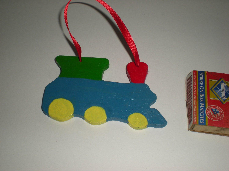 Kid�s Train Gift Tag Ornament