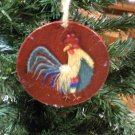 Rooster Gift Tag & Ornament