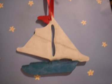 Sailboat Ornament Decoration