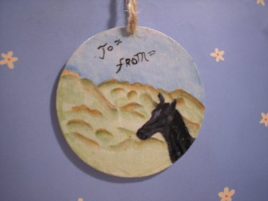 Horse Gift Tag & Ornament