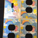CARE BEARS LIGHT SWITCH & OUTLET COVERS *CUTE!*