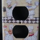 FAT CHEF OULTET COVER  Kitchen Decor *Look* FREE SHIP!