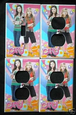 iCARLY LIGHT SWITCH & OUTLET COVERS Kid's Room Decor