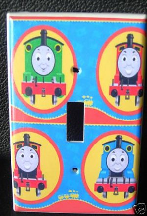 THOMAS the TRAIN LIGHT SWITCH COVER Thomas and friends