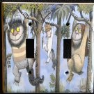 WHERE the WILD THINGS ARE DOUBLE LIGHT SWITCH COVER
