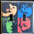 The BEATLES DOUBLE LIGHT SWITCH COVER Unique Look!