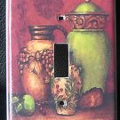 TUSCAN URNS LIGHT SWITCH COVER  BEAUTIFUL! LOOK!