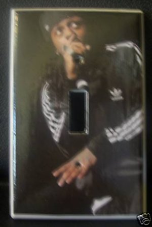 LIL WAYNE LIGHT SWITCH COVER *COOL!* Look!