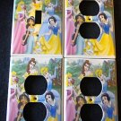 Disney PRINCESSES LIGHT SWITCH & OUTLET COVERS *CUTE!*