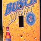 BUSCH LIGHT BEER LIGHT SWITCH COVER  Unique LOOK! NEW