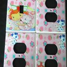Baby STRAWBERRY SHORTCAKE LIGHT SWITCH & OUTLET COVERS