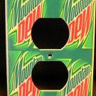 MOUNTAIN DEW OUTLET COVER  COOL LOOK! Unique * Gift *