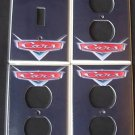 Disney Pixar CARS LOGO LIGHT SWITCH & OUTLET COVERS