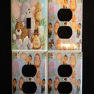 JUNGLE BABIES LIGHT SWITCH & OUTLET COVERS Patty Reed