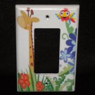 Fisher Price RAINFOREST LIGHT SWITCH Rocker Switch GFI