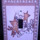 Linda Spivey HEARTS and STARS LIGHT SWITCH COVER decor