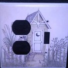 Linda Spivey OUTHOUSES LIGHT SWITCH & OUTLET COVER