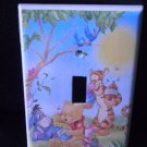 WINNE the POOH LIGHT SWITCH COVER *CUTE* Pooh & friends