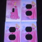 Disney Princess SLEEPING BEAUTY LIGHT SWITCH & OUTLETS