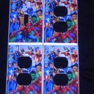 MARVEL SUPER HEROES LIGHT SWITCH & OUTLET COVERS Cool!